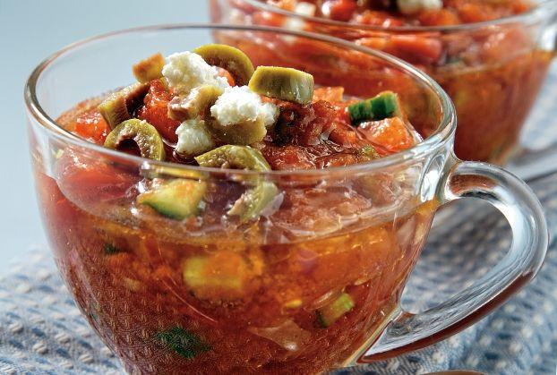 Xωριάτικη ντοματόσουπα