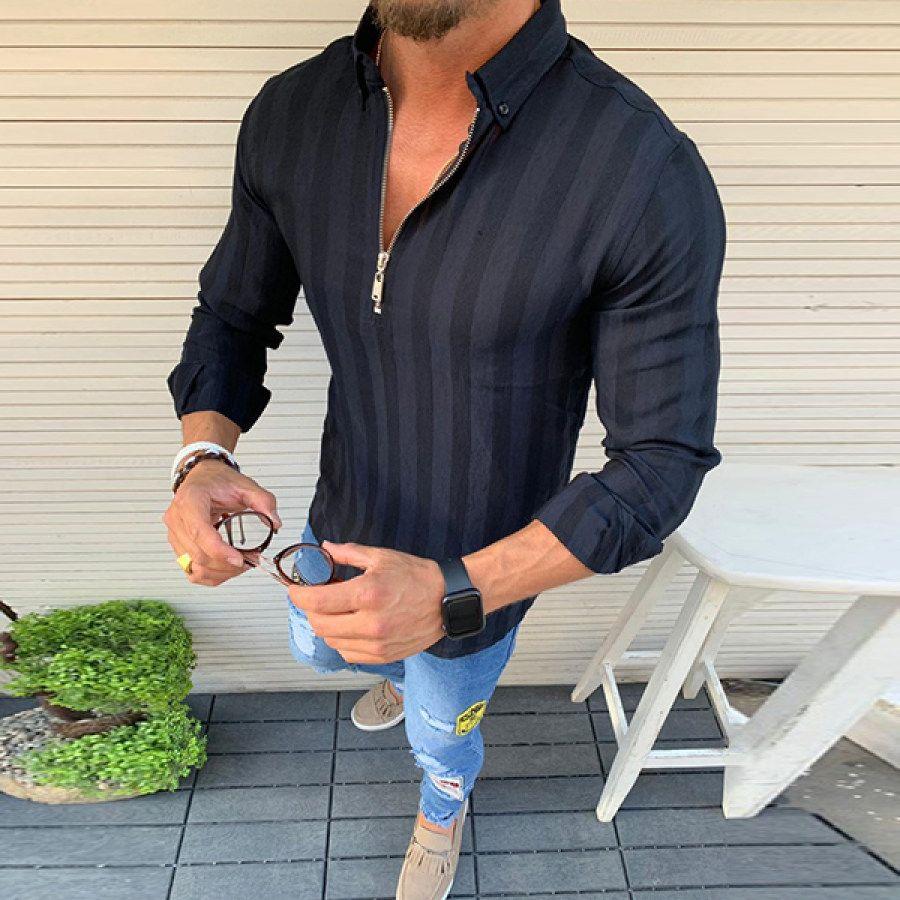 Men S Fashion Slim Shirt In 2021 Slim Shirts Shirt Dress Casual Casual Shirts [ 900 x 900 Pixel ]