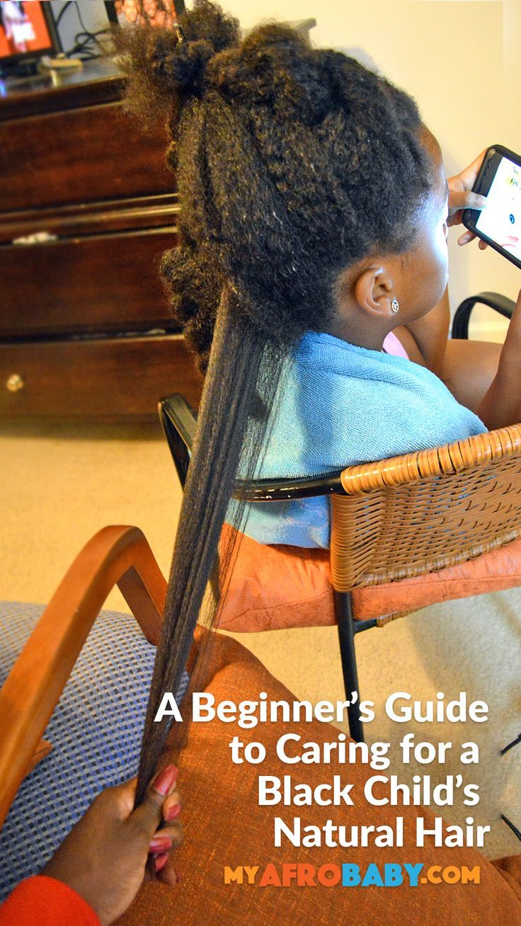 How to Grow A Black Child's Natural Hair Part 2