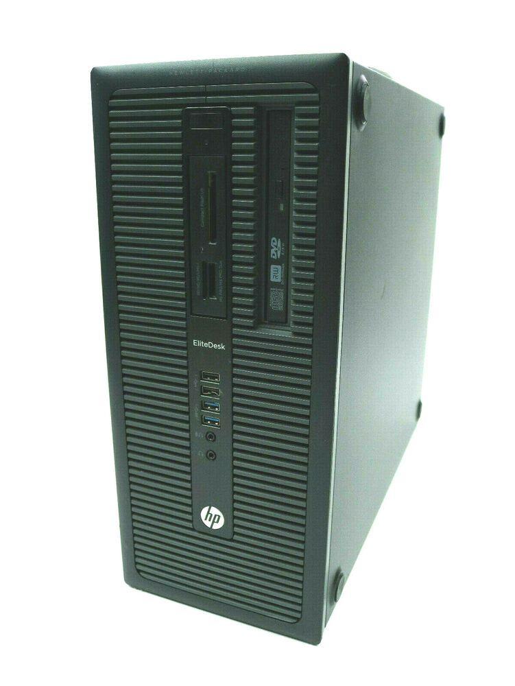 Hp Elitedesk 800 G1 Tower Intel Core I5 4670 3 40ghz 8gb 2tb Hdd Hd8490 Win7pro Hp Intel Core 8gb Hdd