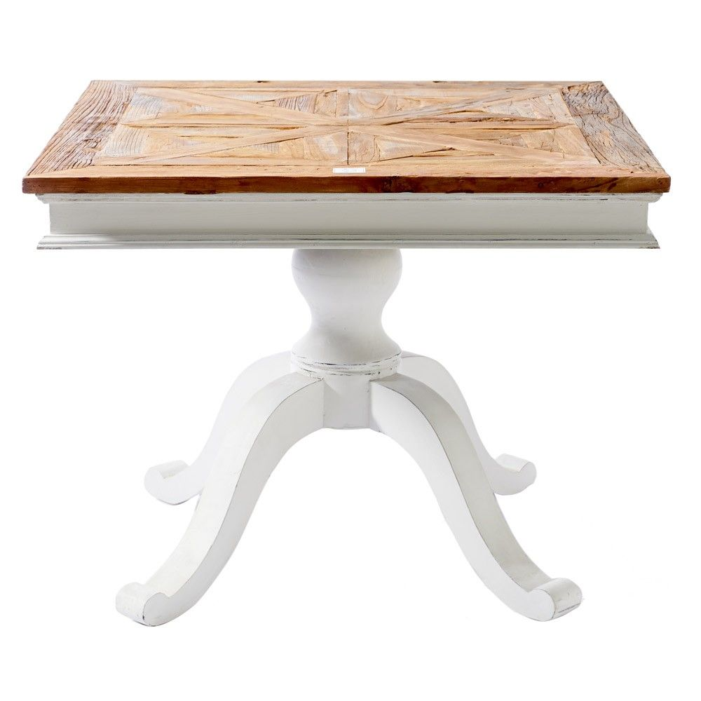Riviera Maison Chateau Belvedere Dining Table White Poplar And Elm Wood Square Dining Table Refresh Dining Table Square Dining Tables Dining Room Interiors