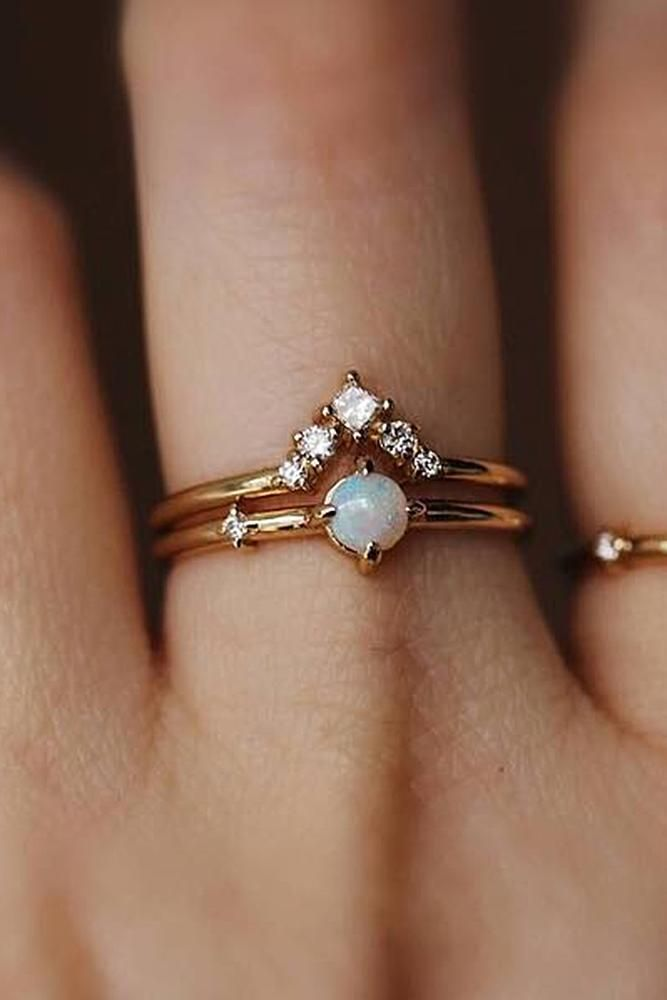 15 wedding Rings opal ideas