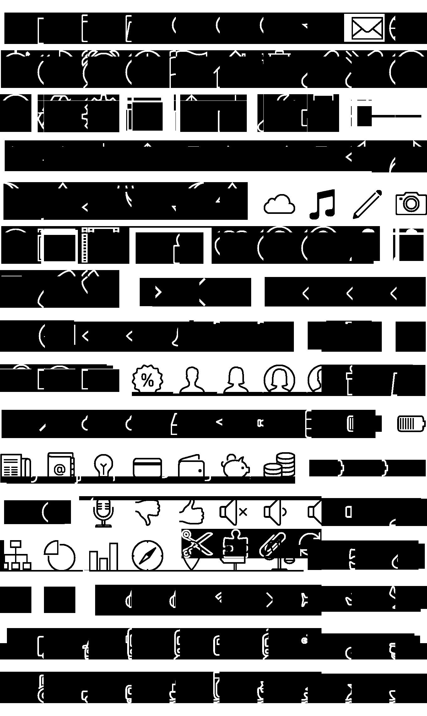 Free iOS 7 icons in vector Dibujos garabateados, Libreta