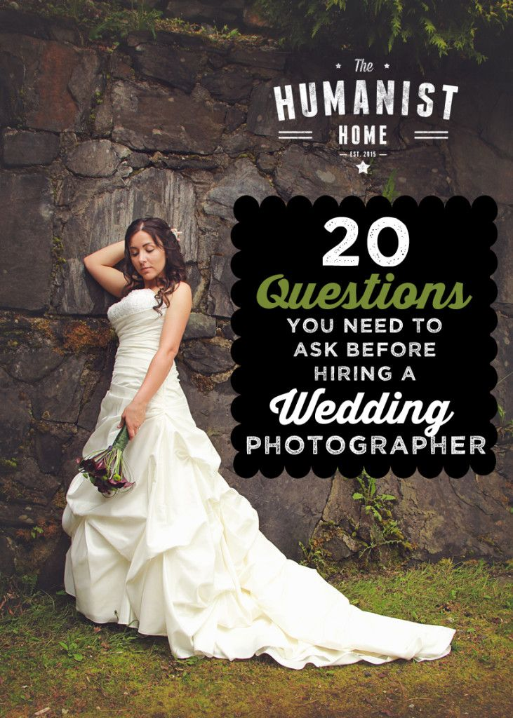 20 Questions You Need To Ask Before Hiring A Wedding Photographer