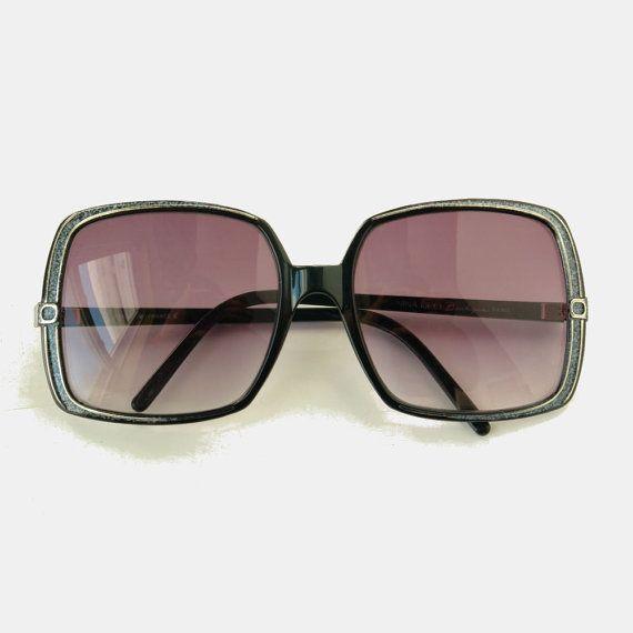 NINA RICCI oversized sunglasses 1970s by pieceshop on Etsy, $52.00 // Granny Style