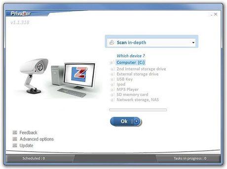 PrivaZer es sin duda uno de los mejores programas de limpieza para Windows.