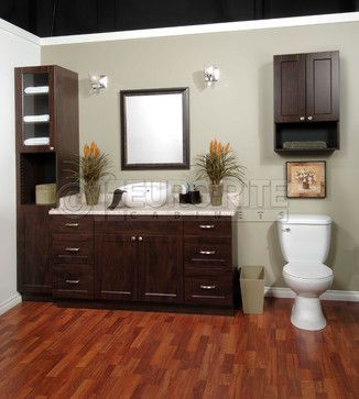 Solaire Chocolate Pear - traditional - Bathroom - Vancouver - Euro ...
