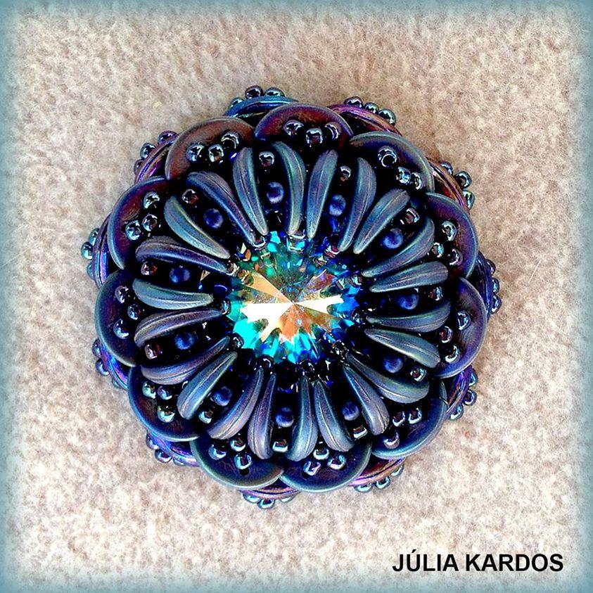 by Julia Kardos, pattern by  Kovács Éva