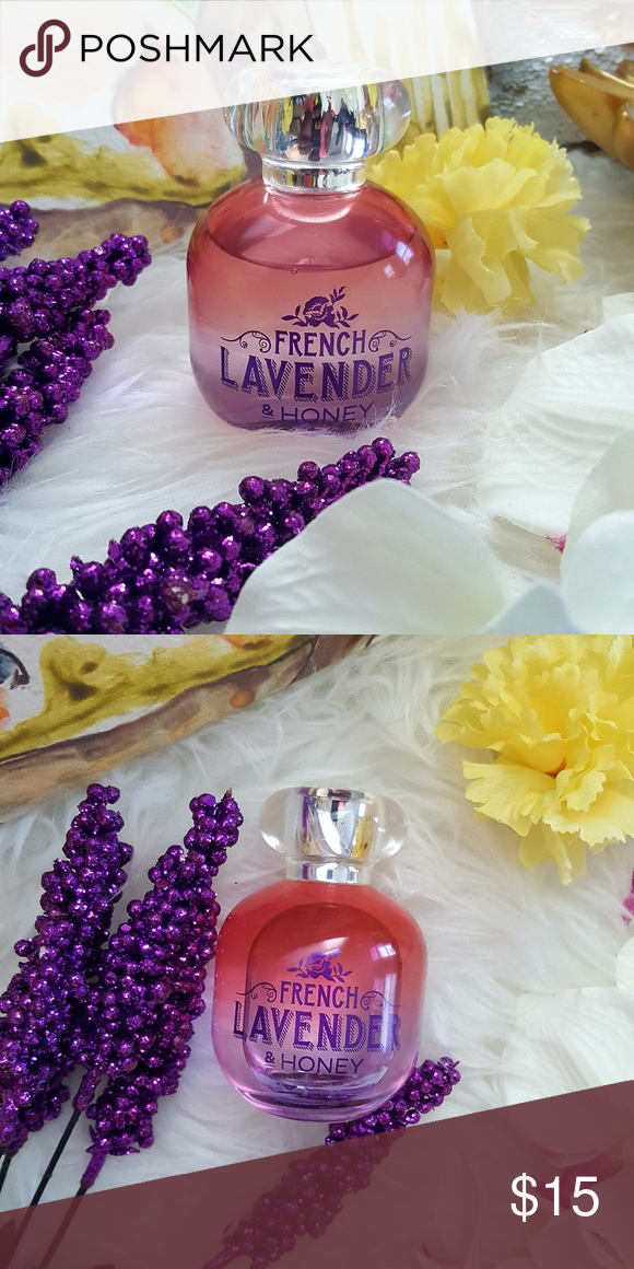 French Lavender & Honey Perfume Bath and Body Works French Lavender and Honey perfume. Used twice ❤ Bath and Body Works Other