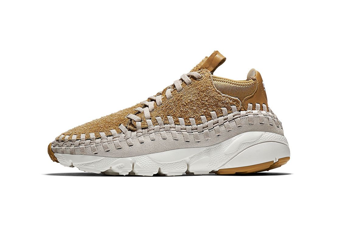 best loved 922d0 40f94 Nike Covers the Air Footscape Woven Chukka in Hairy Suede