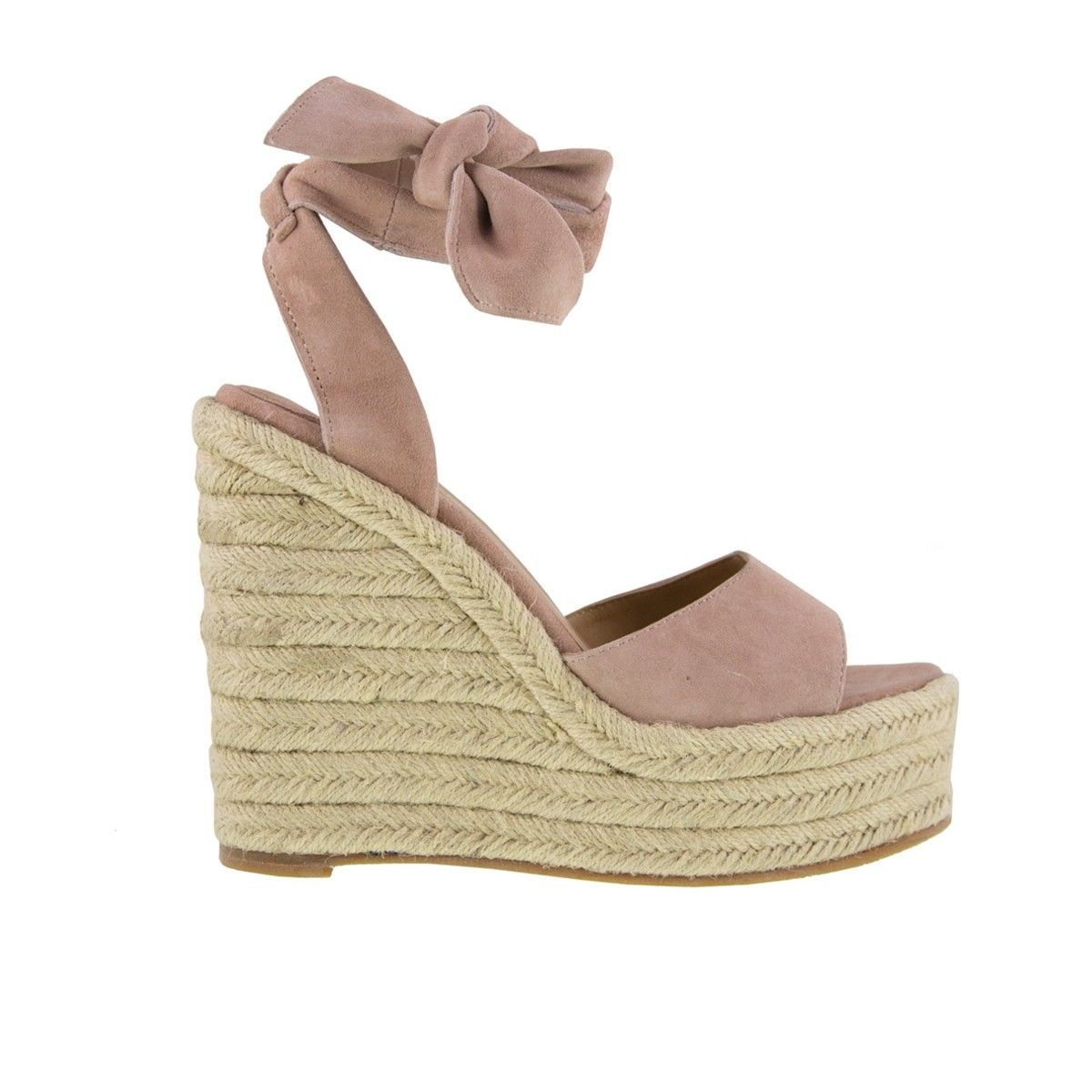 hot sales fresh styles united states Barca Blush Kid Suede Wedges in 2019 | W A N T | Wedges ...