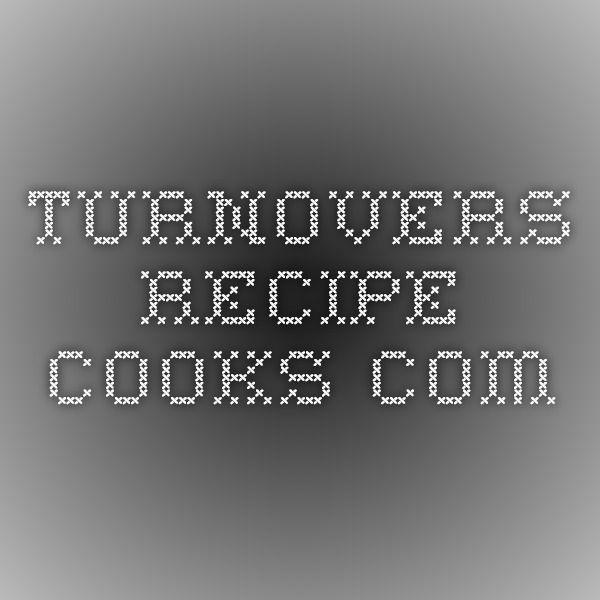 Turnover fillings: lemon, pineapple, and cherry