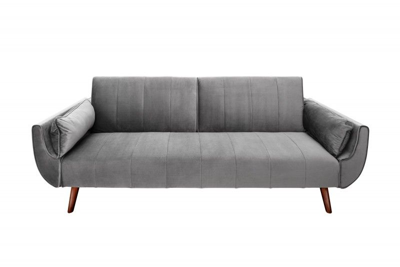 Piekna Elegancka Sofa Z Funkcja Spania Divini To Mebel Utrzymany W Klimacie Stylu Skandynawskim Sofa Dzieki Jej Wykonaniu W Aksamicie I Sofa Furniture Decor