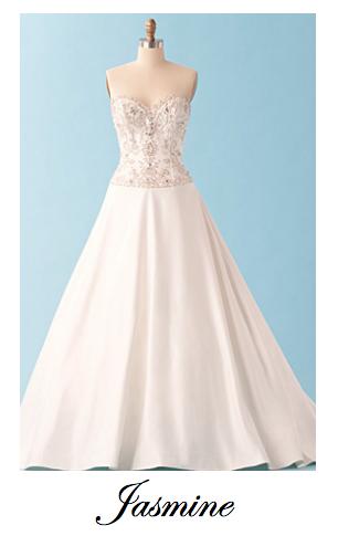 Wedding Dresses inspired by Disney Princess #Jasmine | Because I ...