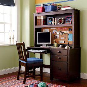 Owen Kids Desks Chairs Kids Espresso Wooden Simple Desk In Desks Chairs Kids Desk Chair Simple Desk Kids Furniture Design
