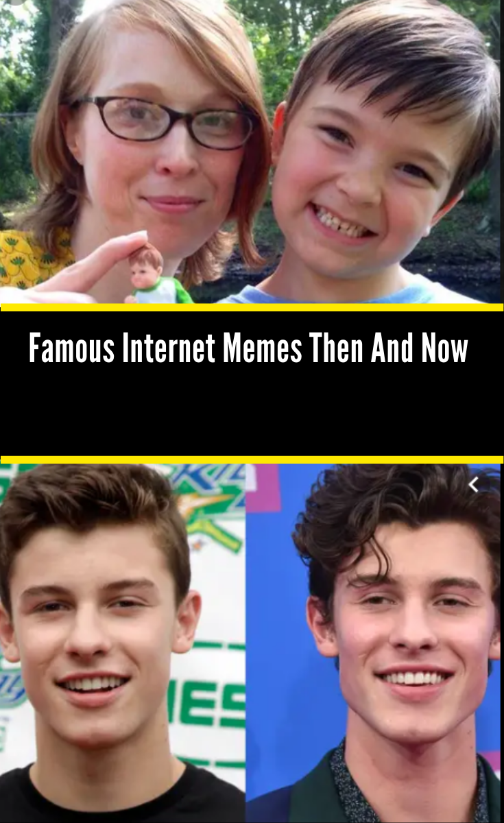 Famous Internet Memes And What They Look Like Today Internet Memes Memes Famous