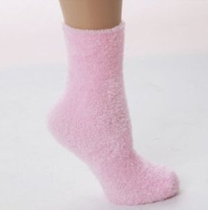 Soft And Warm Microfiber Fuzzy Socks With Images Pink Fuzzy