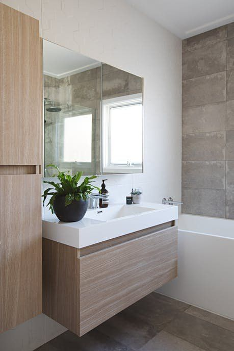 a happy modern renovated melbourne home bathroom decor on bathroom renovation ideas melbourne id=34873