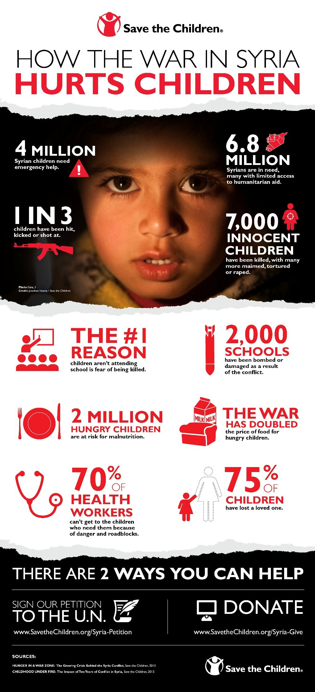 Save The Children Poster – Daily Dellavella