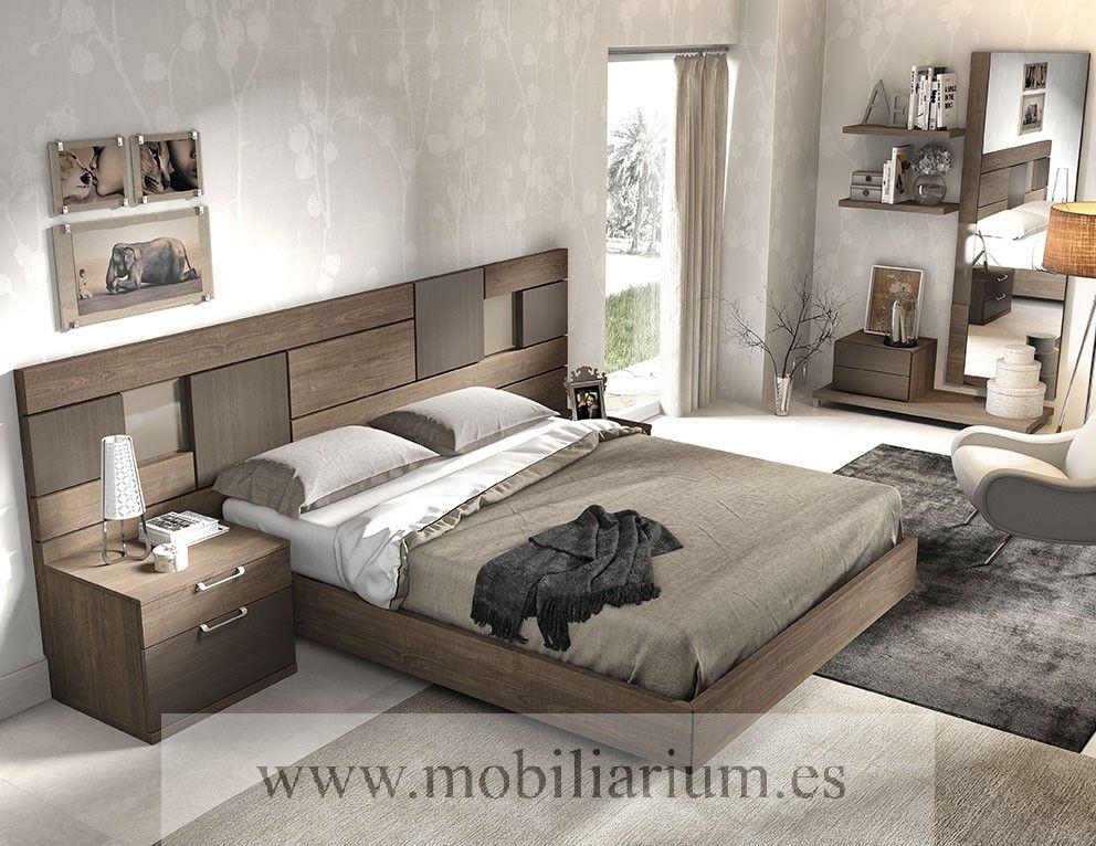 Dormitorios Modernos Lanmobel - Composición 07 Cabecero Tango ...