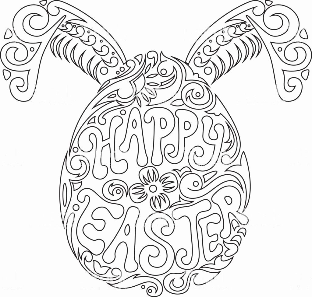 Printable Coloring Pages For Easter With Images