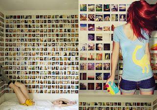 As escolhidas: Mural de Fotos de elástico