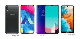 TSPN1: Huawei Y6 Pro 2019 Vs Vivo U1 Vs Samsung Galaxy M10