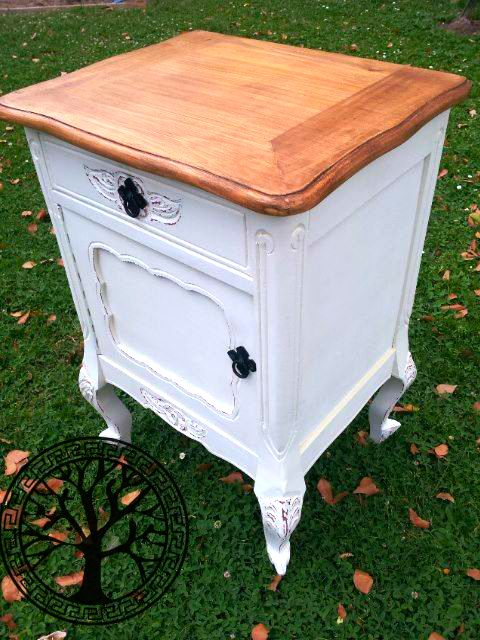 Muebles restaurados vintage la cmoda o chest drawers es for Muebles vintage reciclados