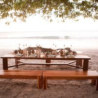 Teak Benches & Table