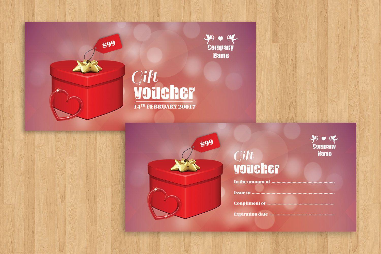 Valentine Day Gift Voucher | Multipurpose Voucher template ...