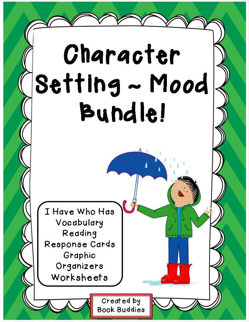 Character and Setting Reading Response Activities | Reading skills ...