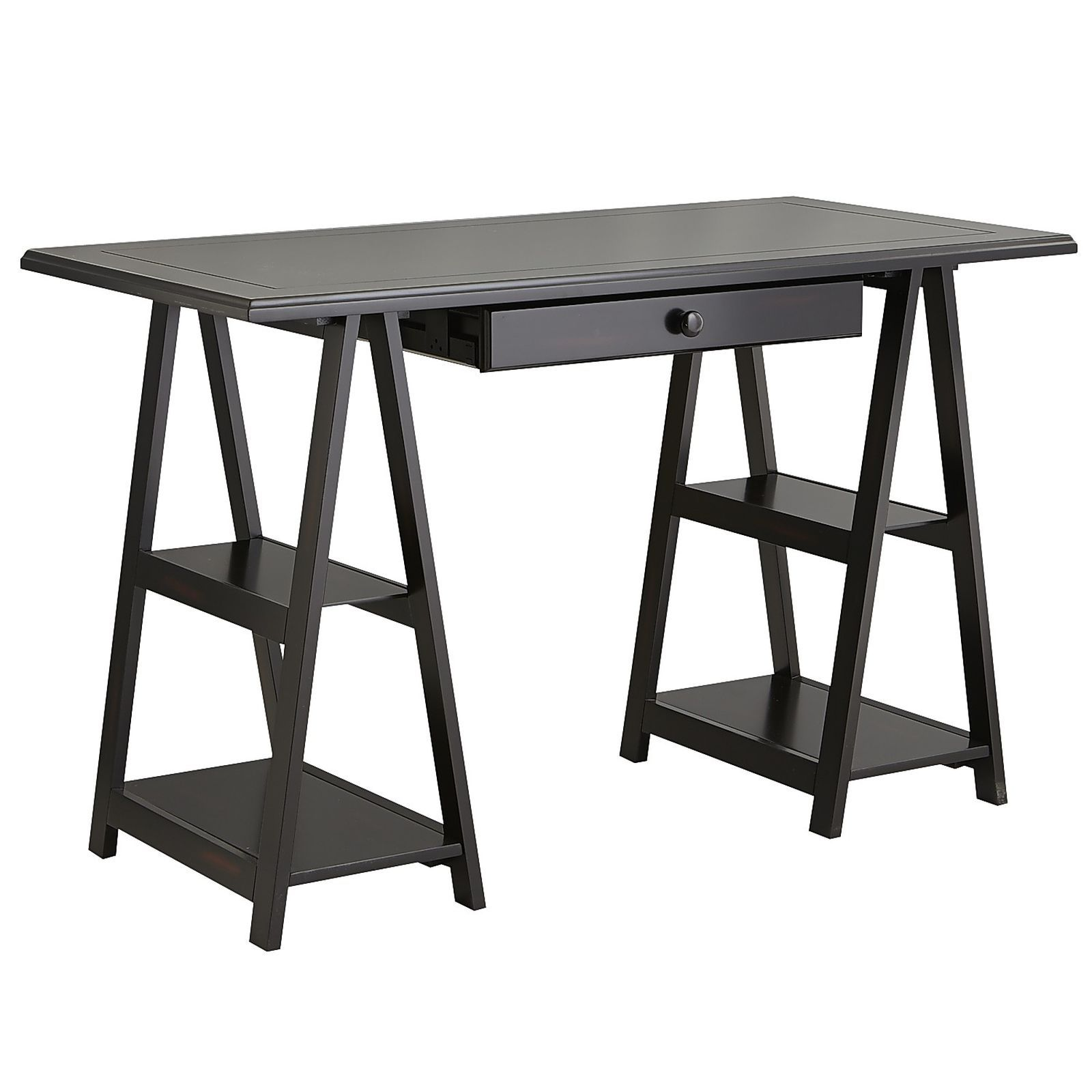 Cavaletto Desk U0026 Drawer Kit   Rubbed Black | Pier 1 Imports