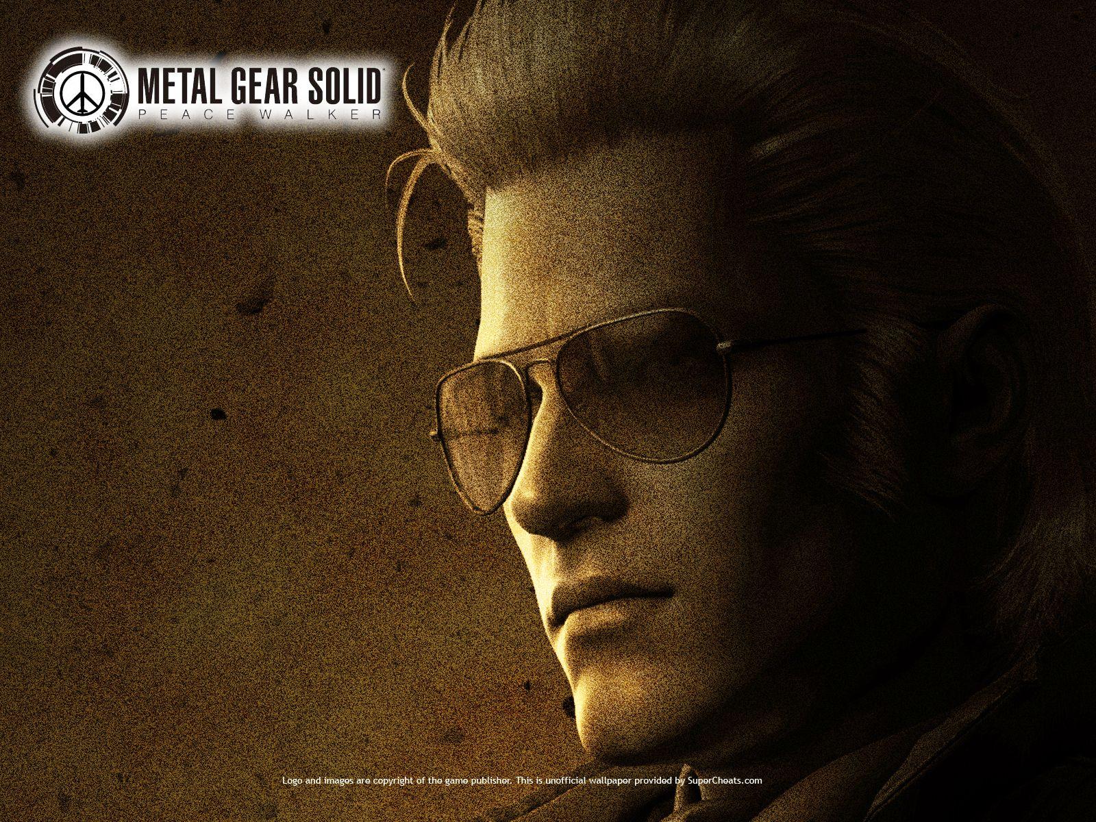 Mgs Peace Walker Kaz Metal Gear Solid Pinterest Metal Gear
