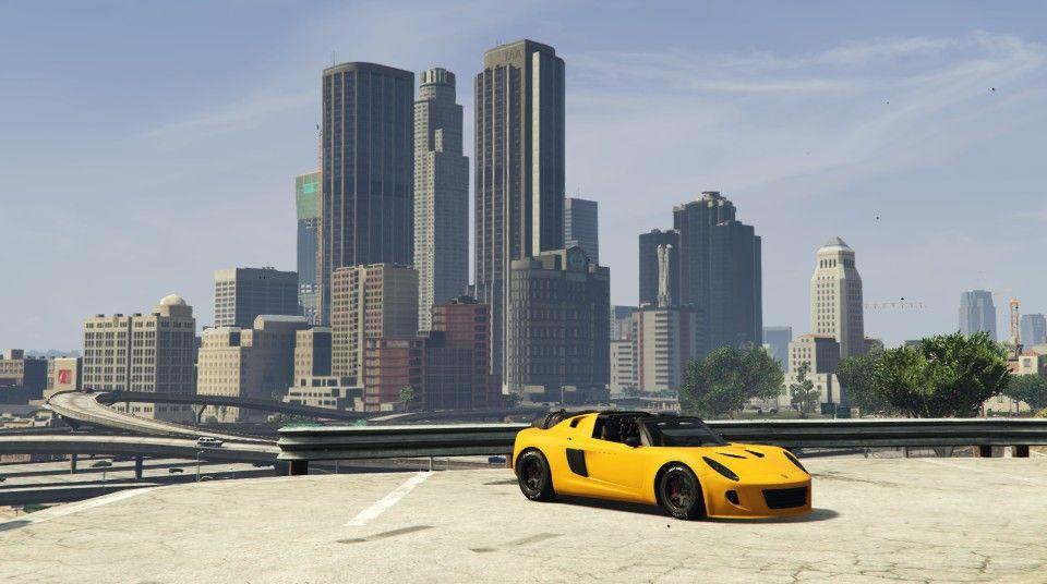 Getting Ready To Fly Over The City Rocket Voltic Style Grandtheftautov Gtav Gta5 Grandtheftauto Gta Gtaonline Grandth Grand Theft Auto City Car Games