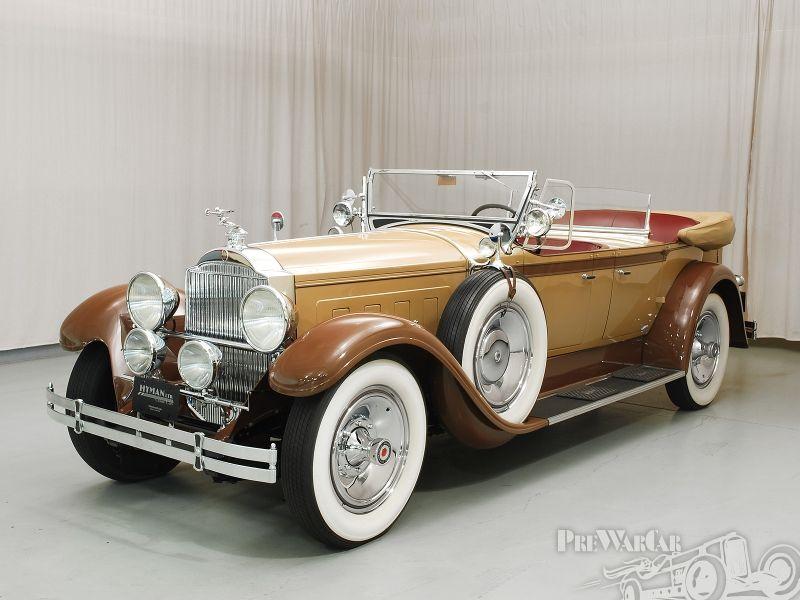 1929 Packard Custom 8 Phaeton Packard Motor Car Company Detroit