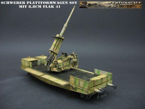 Schwerer SSY mit 8,8cm Flak 41 - Custom-Scales Webseite!
