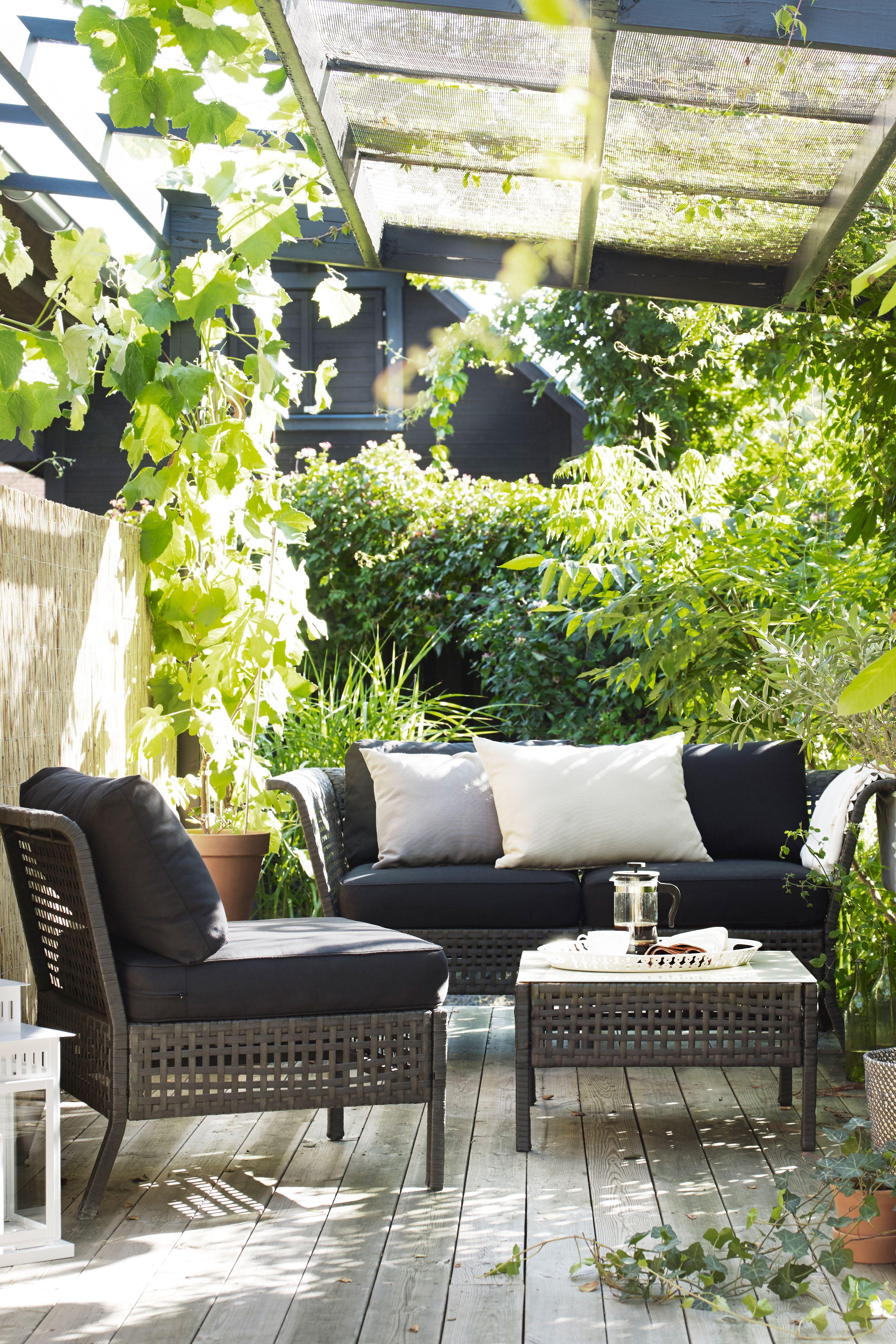 sitzelement 1 au en kungsholmen schwarzbraun in 2019. Black Bedroom Furniture Sets. Home Design Ideas