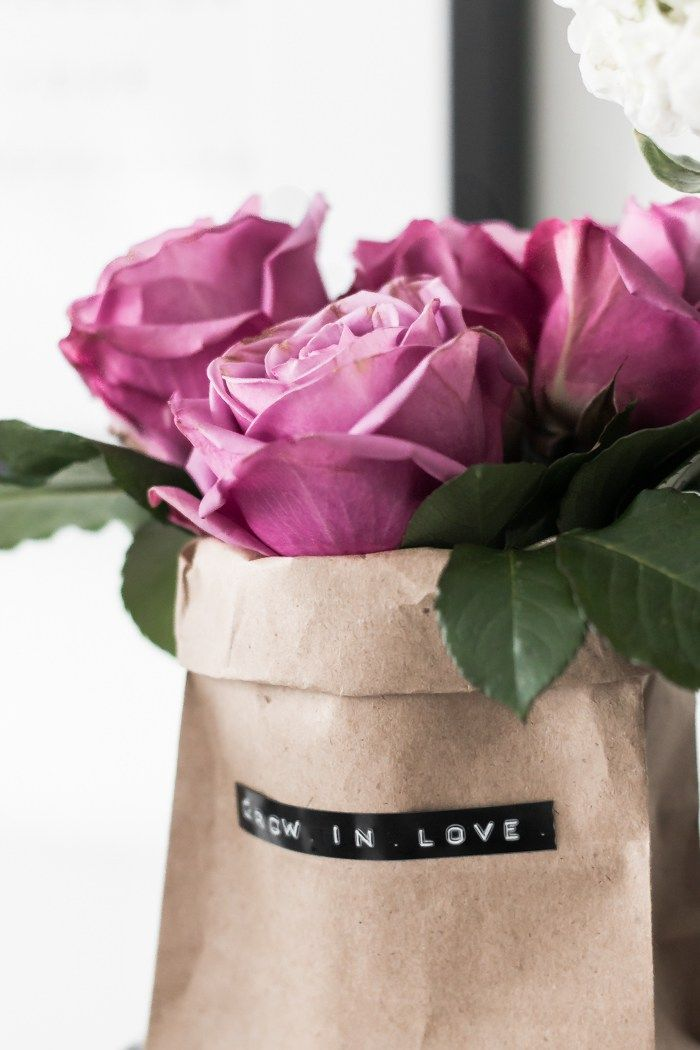 Diy Paper Bag Bouquets Diy Paper Bag Paper Bag Flowers Diy Paper