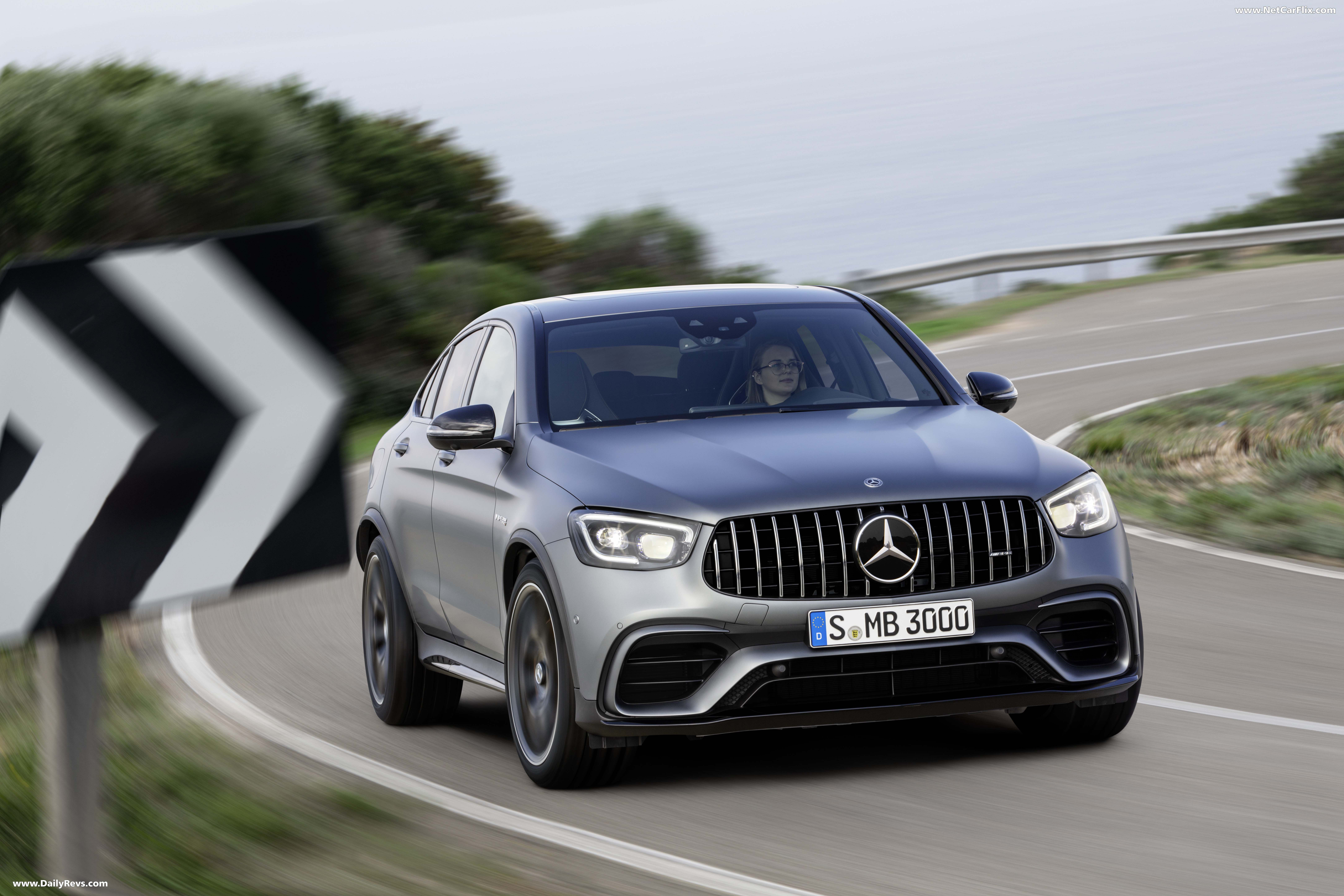 2020 Mercedes Benz Glc63 S Amg Coupe Dailyrevs Mercedes Amg