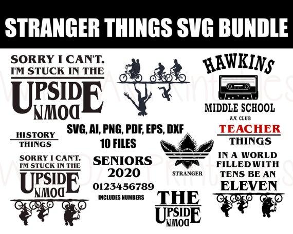 stranger things svg, Stranger Things SVG Bundle, Teachers
