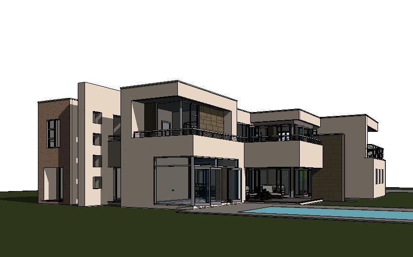 storey house design modern style plan luxury with balconies natural stone cladding patio aluminium folding doors double also rh pinterest