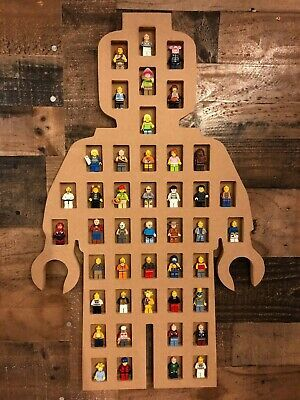 Details about Display Case for lego Minifigures Wall Cabinet Shadow Box holds 44 figures