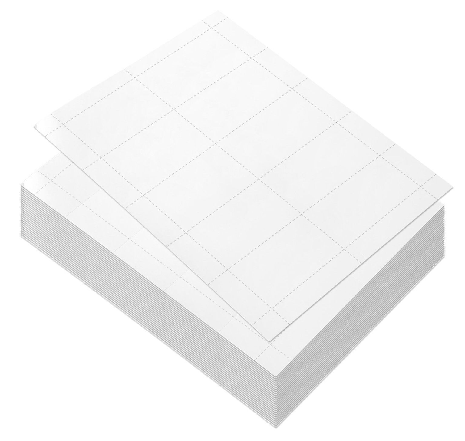 100 Sheets Blank Business Card Paper 1000 Business Card Stock For Inkjet And Laser Printers 170gsm Whit Business Card Stock Blank Business Cards Card Stock
