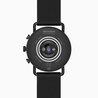 Skagen Smartwatch Hr - Falster 3 X By Kygo Black Silicone