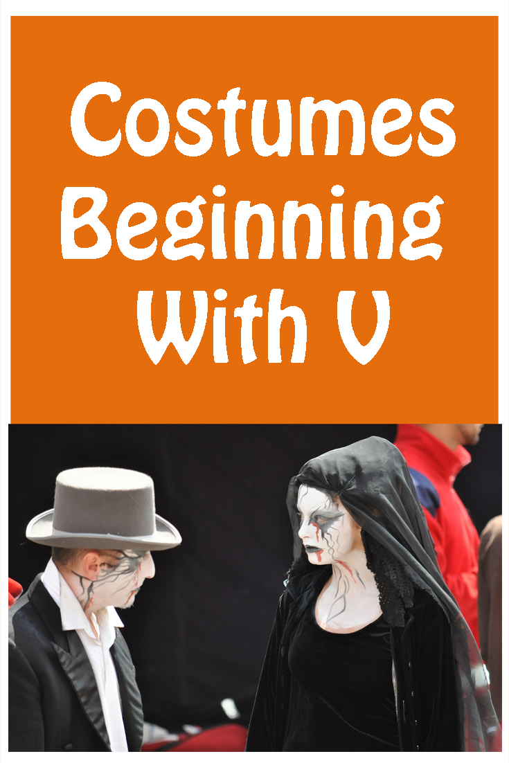 24f77c6a9b1 Great selection of costumes beginning with V from Vampires to ...