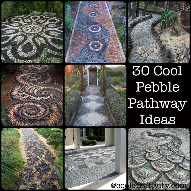 30 Cool Pebble Pathway Ideas for Your Garden | Pathway ideas ...