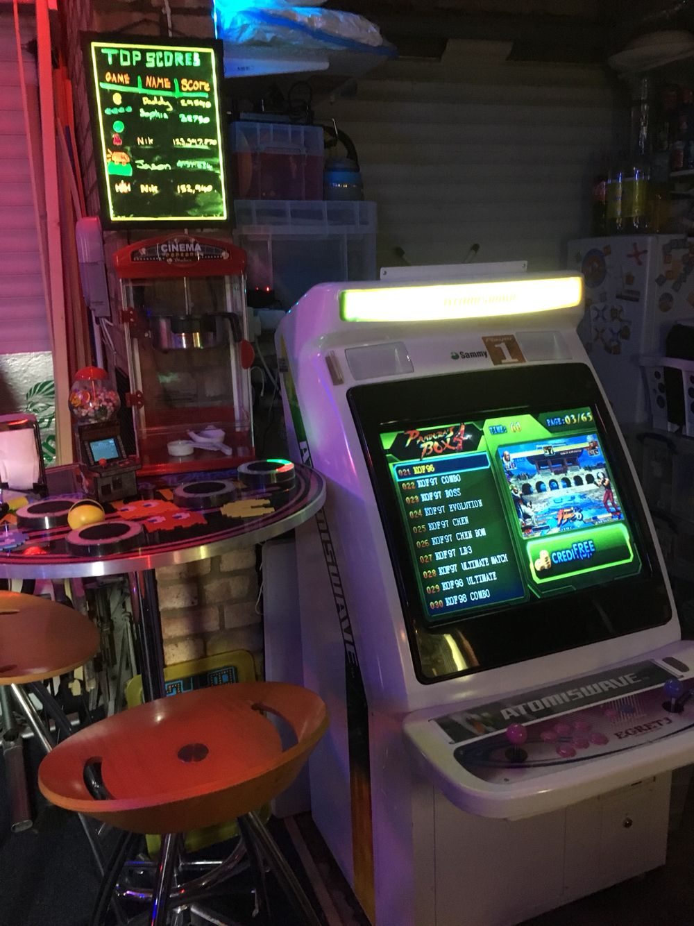Atomiswave SD | The Cave | Arcade games, Games, Arcade