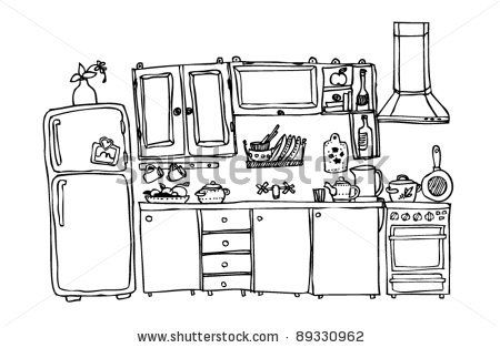17 images about sketch kitchen on pinterest sketching pen art