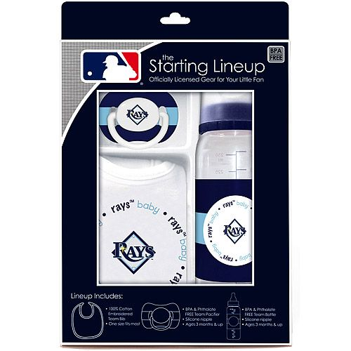 Must have for Rays Babies!  Tampa Bay Rays Starting Lineup Gift Set - MLB.com Shop