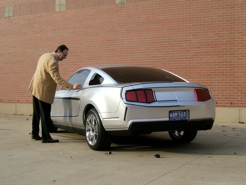 OG | 2009 Ford Mustang Mk5 | Full-size clay model